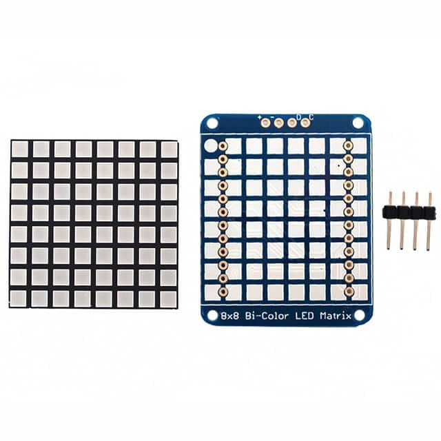 8 X 8 Bicolor Led Square Pixel Matrix With I C Backpack Adafruit Industries Llc Addressable Specialty Online Catalog Digikey Electronics