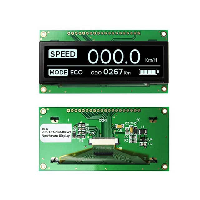NHD-3.12-25664UCW2 Newhaven Display Intl | NHD-3.12-25664UCW2-ND DigiKey Electronics