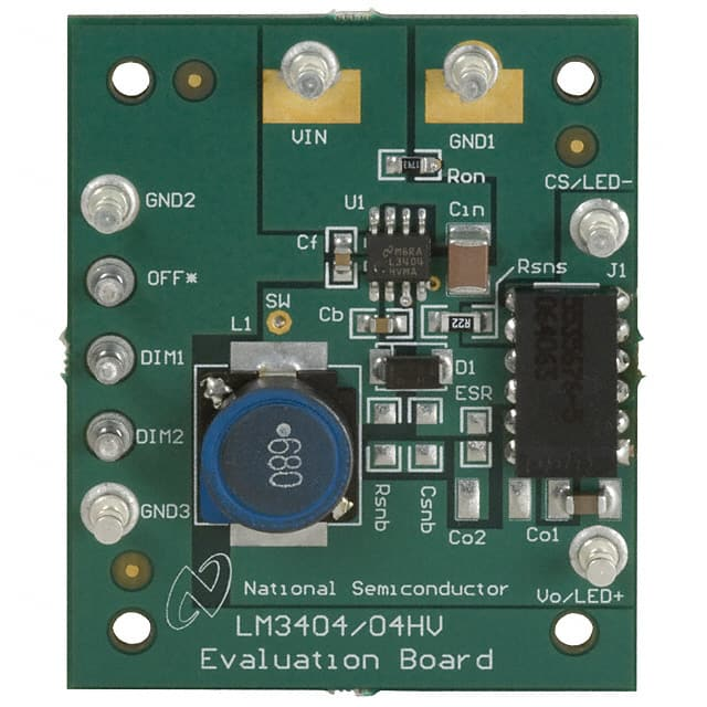 LM3404EVAL and LM3404HVEVAL - Board