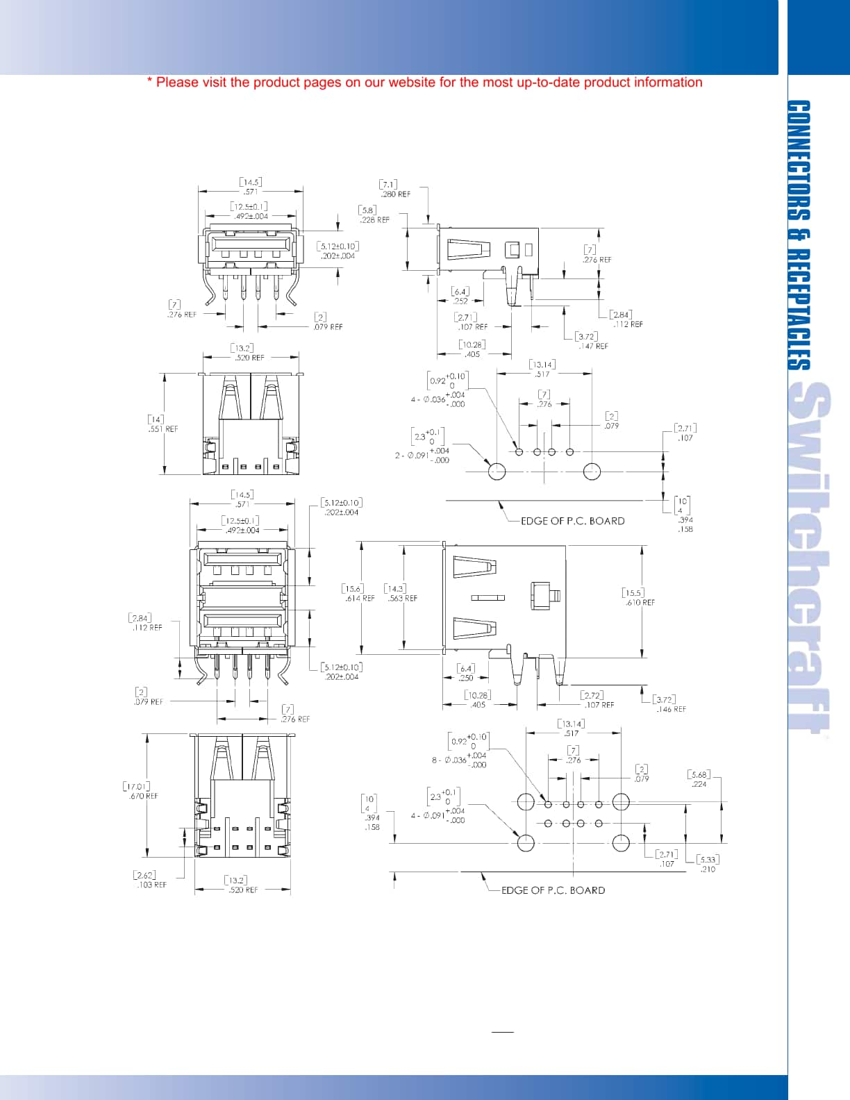 Din Plugs Receptacle Catalog Switchcraft Digikey To Build Usb Power Injector For External Hard Drives Circuit Diagram Inc 5555 N Elston Ave Chicago Il 60630
