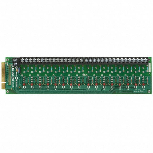 MS-16H Datasheet – I/O MOUNTING BOARD MINI 16POS – Crydom Co.