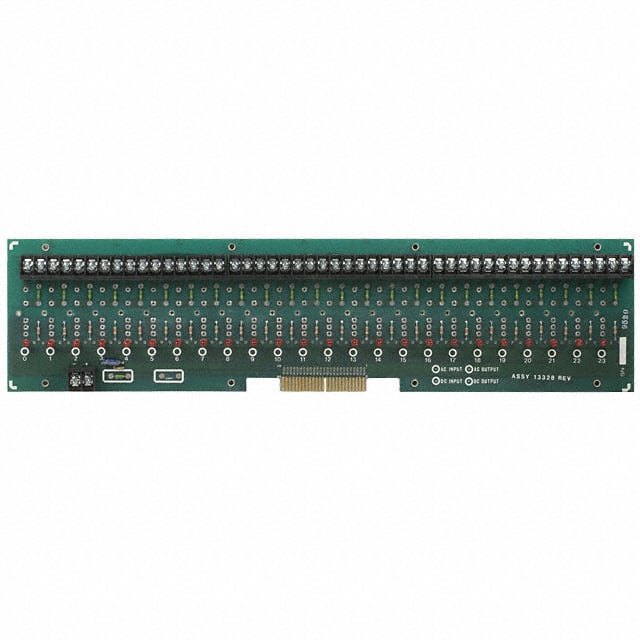 MS-24H Datasheet – I/O MOUNTING BOARD MINI 24POS – Crydom Co.