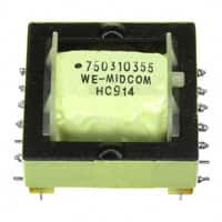 750310355 Wurth Electronics Midcom | 732-2131-ND DigiKey Electronics